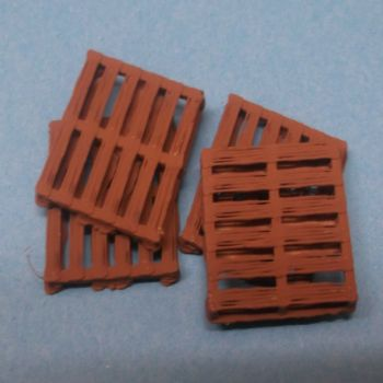 N Scale Pallets (pack of 4)